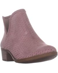 Lucky Brand - Baley Pull On Ankle Boots - Lyst