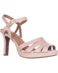 Clarks - Mayra Poppy Platform Comfort Sandals - Lyst