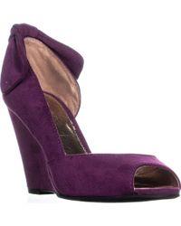 Report - Renoir Bow Tie Wedge Sandals - Lyst