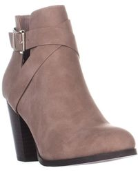 Call It Spring - Tecia Buckle Ankle Boots - Lyst