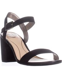 3cb2a06b5e2948 Sam Edelman Women s Yaro Sheer Ankle Strap High-heel Sandals in ...