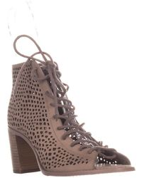 Vince Camuto - Tulina Lace Up Boots - Lyst