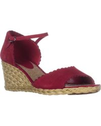 Lauren by Ralph Lauren - Lauren Ralph Lauren Chrissie Wedge Sandals - Lyst
