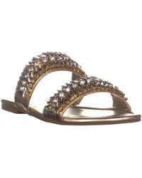 Guess - G By Luxeen2 Multi Strap Sandals - Lyst