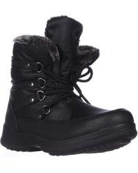 Weatherproof Lauren Short Winter Boots - Black