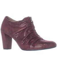 Aerosoles - Fortunate Front Zip Scrunch Ankle Boots - Lyst
