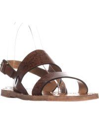 Patricia Nash - Elda Slingback Flat Sandals - Lyst