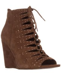 Jessica Simpson - Barlett Strappy Studded Wedge Pumps - Lyst