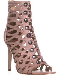 Guess - Gues Perlina2 Gladiator Ankle Booties - Lyst
