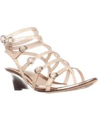 Tahari - Elie Gladiator Wedge Sandals - Lyst
