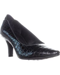 LifeStride - Klarissa Pointed Toe Slip On Heels, Black - Lyst