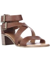 Rampage - Havarti Low-heel Dress Sandals - Lyst