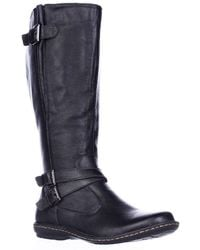 Born - B.o.c. Concept Barbana Wide Calf Riding Boots - Black - Lyst