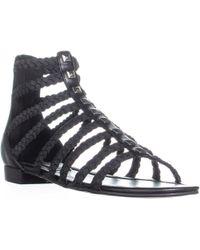 Marc Fisher - Pepita Gladiator Zip Up Sandals - Lyst