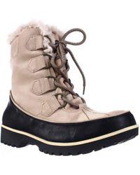 Jambu - Jbu By Mendocino Mid Calf Faux Fur Winter Snow Boots - Lyst