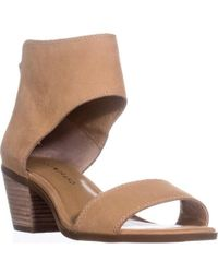 Lucky Brand - Lucky Barbina Low-heel Ankle Strap Sandals - Lyst