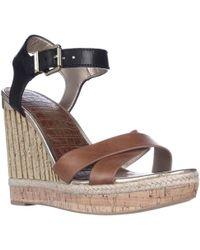 Sam Edelman - Clay Wedge Ankle Strap Sandals - Lyst