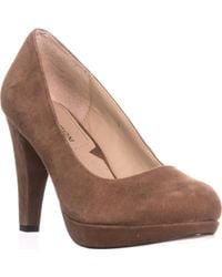 Adrienne Vittadini - Prestin Platform Classic Court Shoes - Lyst