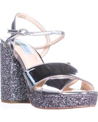 7df3fa316294 Betsey Johnson - Blue By Sb-ollie Platform Dress Sandals - Lyst