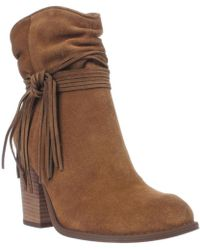 Jessica Simpson - Sesley Wrapped Slouch Ankle Booties - Lyst