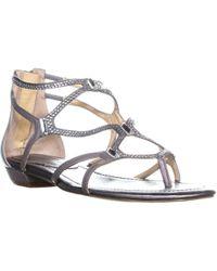 Ivanka Trump - Kalia Flat Strappy Sandals - Lyst