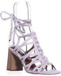 Kensie - Sadira Heeled Gladiator Sandals - Lyst