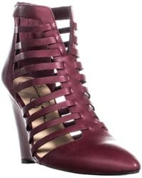 Jessica Simpson - Viine Pointed Toe Strappy Wedge Sandals - Lyst
