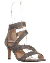 Franco Sarto - Celia Strappy Evening Sandals - Lyst