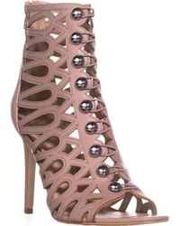 Guess - Perlina2 Gladiator Ankle Booties - Lyst