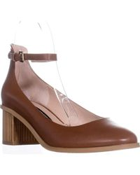French Connection - Clemena Ankle Strap Pumps - Lyst