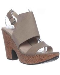 Naya - Misty Slingback Wedge Sandals - Lyst
