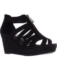 Lauren by Ralph Lauren - Lauren Ralph Lauren Kelcie Platform Wedge Sandals - Lyst