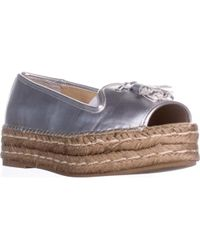 Adrienne Vittadini - Parke Flat Sandals - Lyst