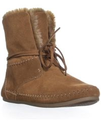 TOMS - Zahara Lined Pull On Slipper Boots - Lyst