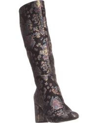 Kenneth Cole Reaction Time To Step Knee-high Boots - Black