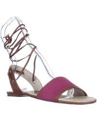 Michael Kors - Michael Lilah Flat Lace-up Ankle Espadrille Sandals - Lyst