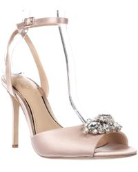2a3a1ac21e2 Lyst - Badgley Mischka Bankston Ankle-strap Dress Sandals in Blue