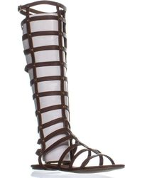 667bc1f4f21 Madden Girl - Amily Tall Gladiator Sandals - Lyst