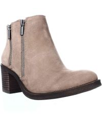 Lucky Brand - Roquee Double Zipper Ankle Boots - Lyst