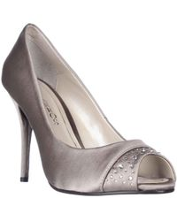 Caparros - Odell Rhinestone Peep Toe Dress Court Shoes - Lyst