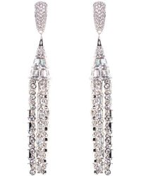 Fallon - Deco Tuile Earrings - Lyst