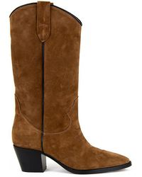 c76f10313f3d Lyst - Christian Louboutin Pre-owned Snow Boots in Brown