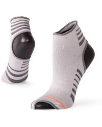 Stance - Silver Yogi Forefoot - Lyst