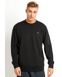 Calvin Klein - Calvin Klein Sweatshirt -black - Lyst