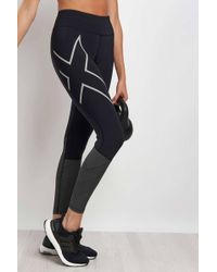 2XU - Mid Rise Reflective Compression Tights - Lyst
