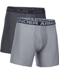 "Under Armour - Ua Original Series 6"" Boxerjock 2 Pack - Lyst"