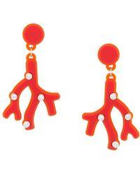 Yazbukey - Plexi Glass Earrings - Lyst