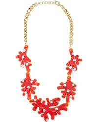 Yazbukey - Plexiglass Necklace - Lyst