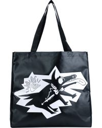 Julien David - X Quicksilver Dog Print Tote - Lyst