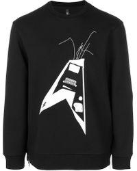 Neil Barrett - Thunderbolt World Tour Sweatshirt - Lyst